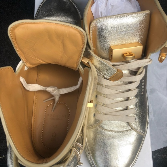 Buscemi Shoes | Buscemi Gold | Poshmark